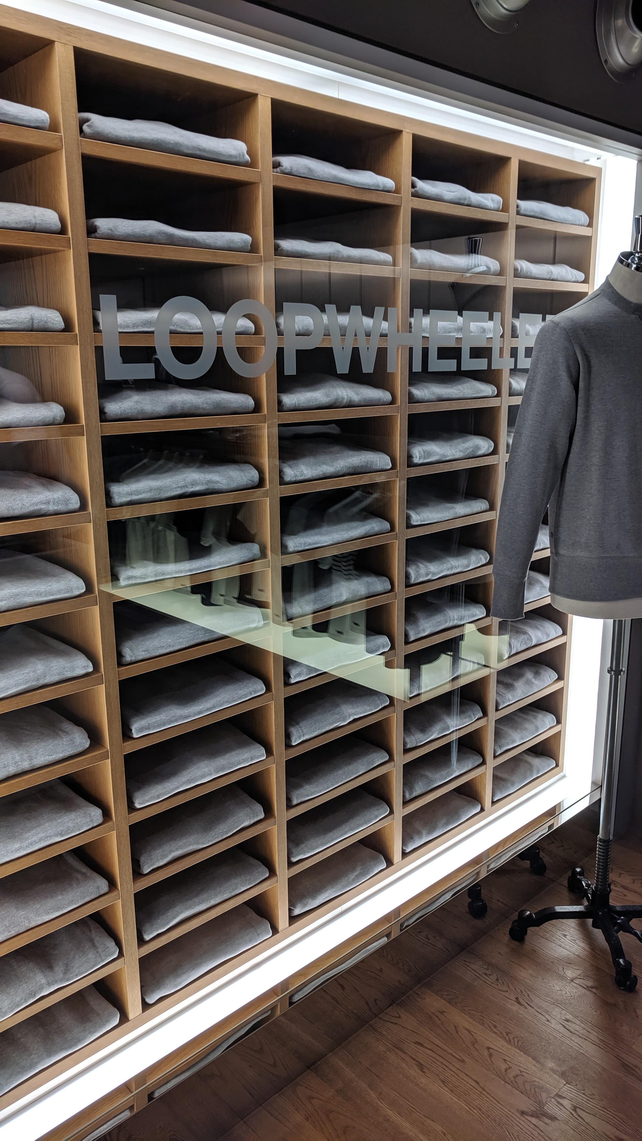 The main cabinet at Loopwheeler