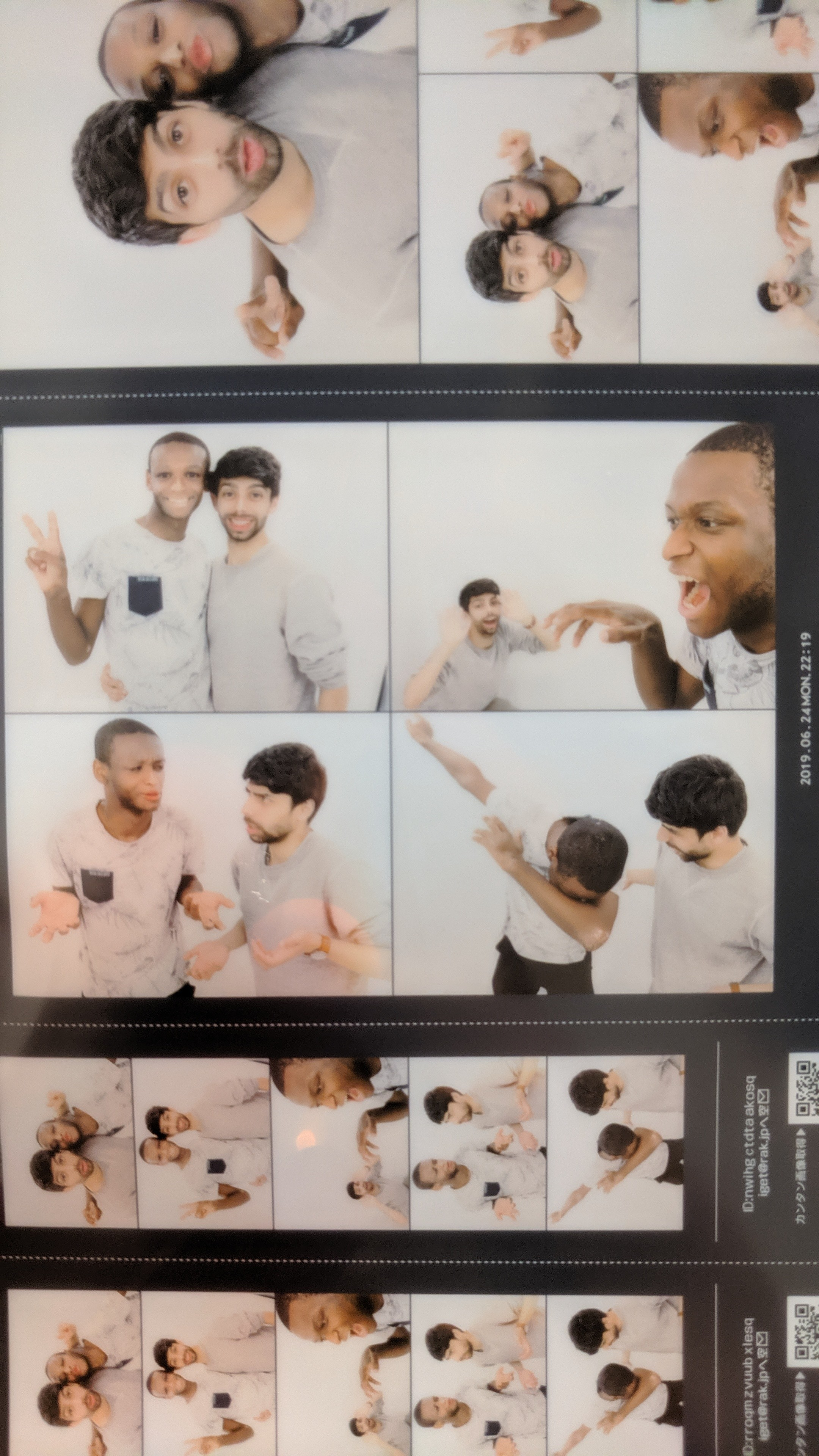 Japanese photo booths are one of the strangest experiences you can imagine. You're given challenge poses and then automatically touched up in all the photos.
